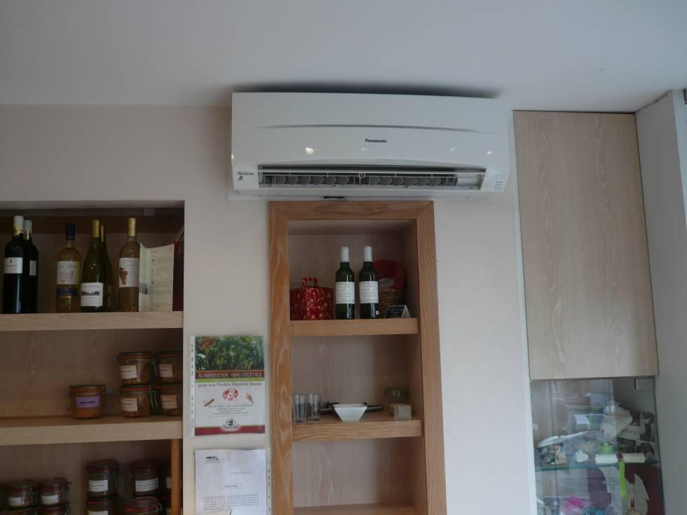 installation climatisation pour une boucherie venerque installation et entretien clim et. Black Bedroom Furniture Sets. Home Design Ideas